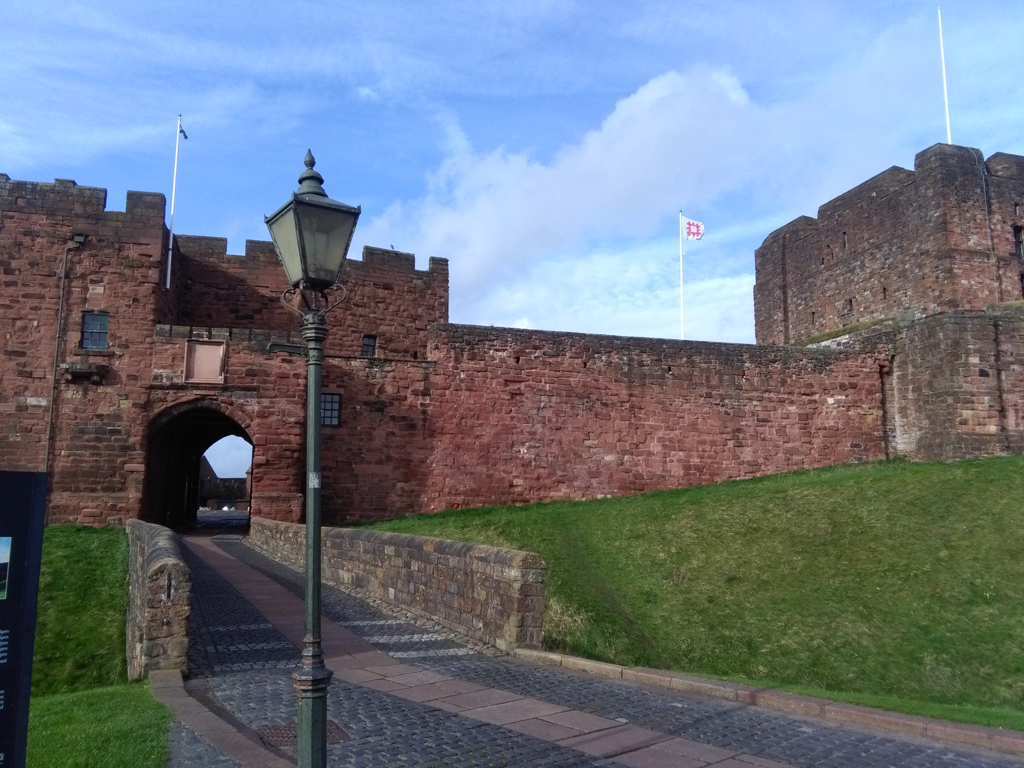 Talk At Carlisle Castle