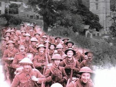 The Great War. The Fallen From A Devon Parish