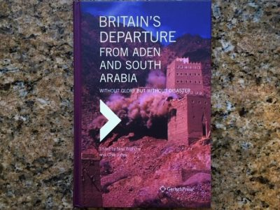 Contribution To New Book On Aden